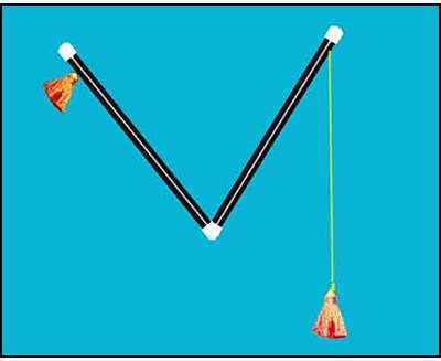 Chinese Pom Pom Sticks - magic