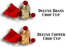 Chop Cup (Brass)- Bazar Magic - magic