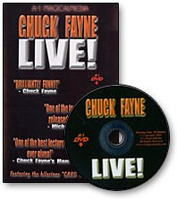 Chuck Fayne Live - magic