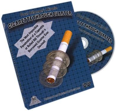 Cigarette Through Quarter - magic