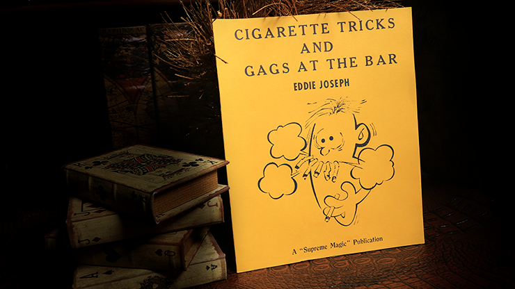 Cigarette Tricks and Gags at the Bar - magic