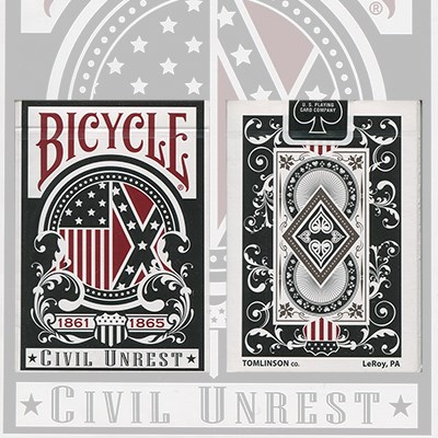 Civil Unrest Deck Limited Edition Playing Cards - magic