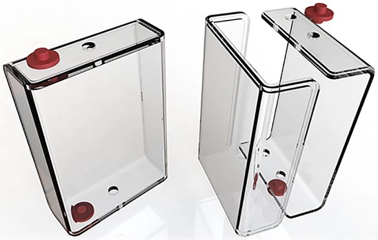 Clear Card Case Expansion for Orbiter 2 Card Display - magic
