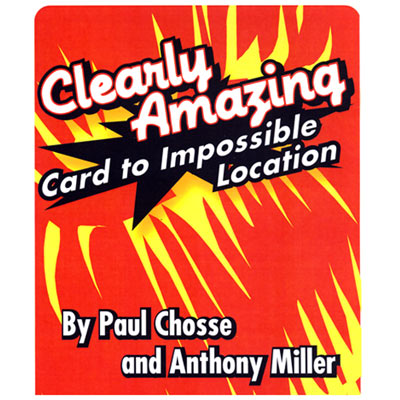 Clearly Amazing trick Paul Chosse and Anthony Miller - magic