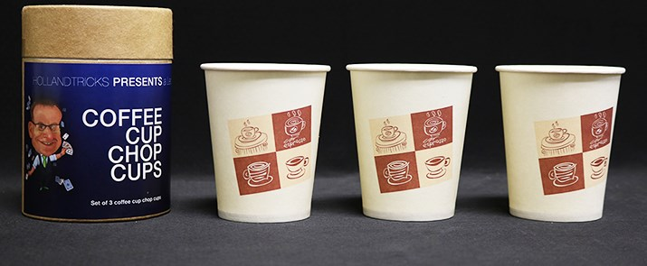 Coffee Cup Chop Cup - magic