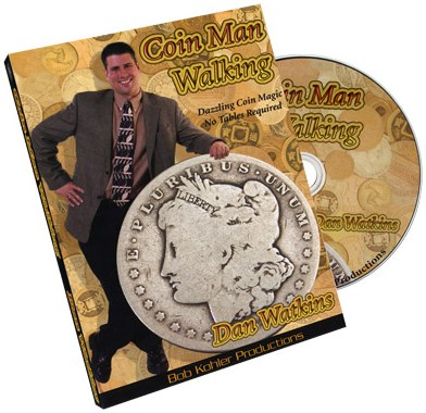 Coin Man Walking - magic