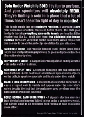 Coin Under Watch - magic