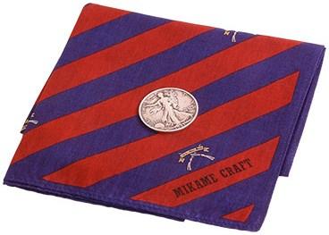 Coin Vanishing Handkerchief - magic