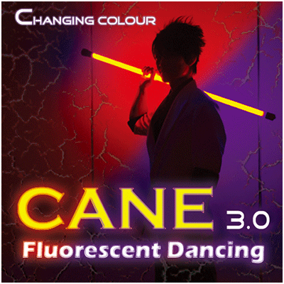 Color Changing Cane 3.0 Fluorescent Dancing - magic