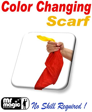 Color Changing Silk Scarf - magic