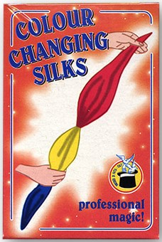 "Color Changing Silks 4 Color Silks 12"" - magic"