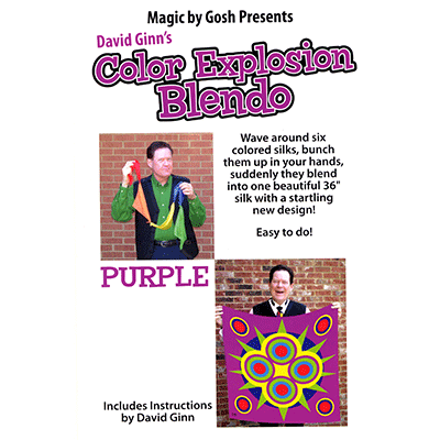 "Color Explosion Blendo Set - Purple 36"" - magic"