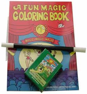 Coloring Book Kit - magic