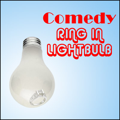 Comedy Ring In Lightbulb - magic