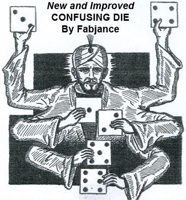Confusing Die - magic
