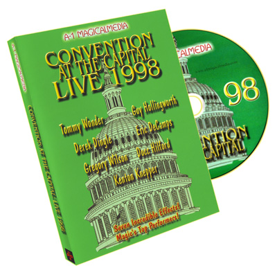 Convention at the Capital 1998- A-1, DVD - magic
