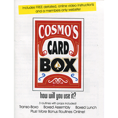 Cosmo's Card Box - magic