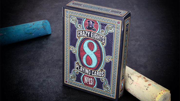 Crazy 8's Playing Cards - magic