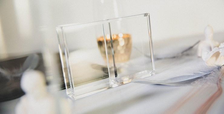 Crystal Playing Card Display - magic