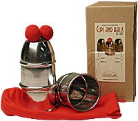 Cups & Balls- Chop Cup Aluminium Combo - magic