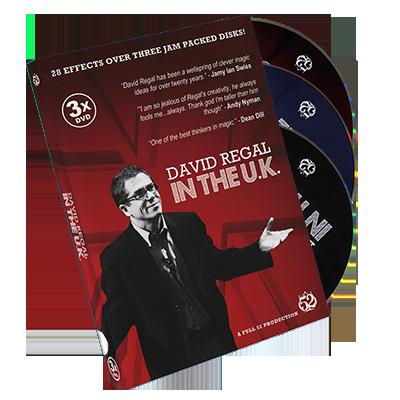 David Regal In The UK - magic