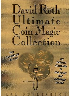 David Roth Ultimate Coin Magic Collection Vol 3 - magic