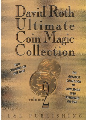 David Roth Ultimate Coin Magic Collection Vol 2 - magic