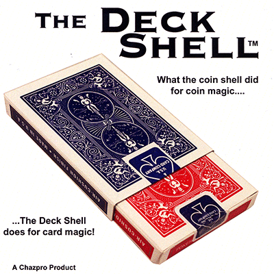 Deck Shell with DVD (Blue) - magic