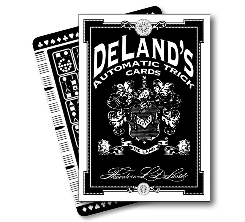 DeLand's Automatic Trick Cards - magic