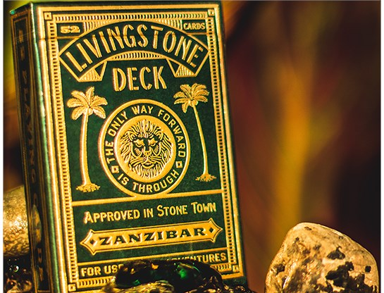 Deluxe Edition Livingstone Playing Cards - magic
