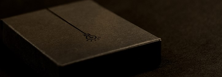 Deluxe ICON BLK Playing Cards - magic