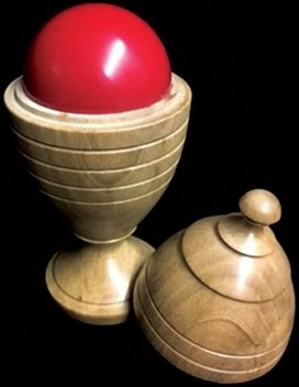 Deluxe Wooden Ball Vase - magic