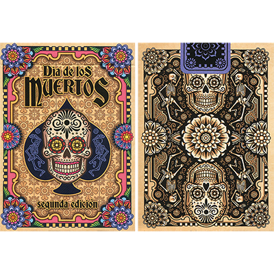 Dia de los Muertos Original Playing Card (2nd Edition) - magic