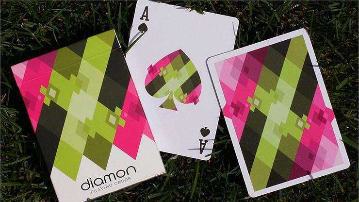 Diamon Playing Cards N° 8 Summer Bright - magic