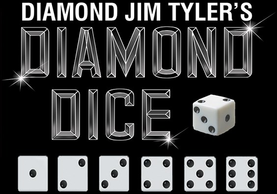 Diamond Dice Set - magic