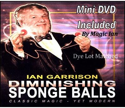 Diminishing Sponge Balls - magic
