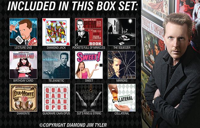 DJT's 10 DVD Box Set - magic