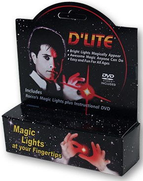 D'Lite Bonus Pack Junior Red with DVD (Pair)  - magic