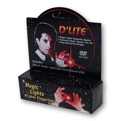 D'Lite Bonus Pack Regular Red with DVD (Pair) - magic