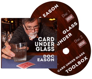 Doc Eason Card Under Glass - magic