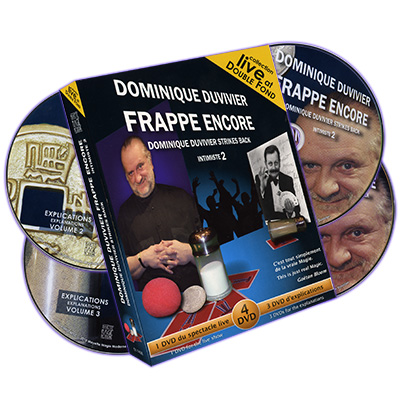 Dominique Duvivier Strikes Back (4 DVD Set) - magic