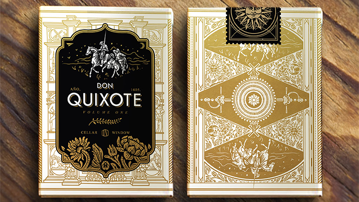 Don Quixote Volume 1 Playing Cards - magic