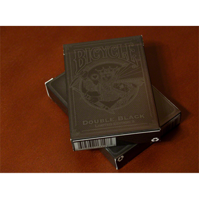 Double Black Limited II Playing Cards - magic