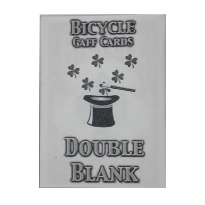 Double Blank Bicycle Cards - magic