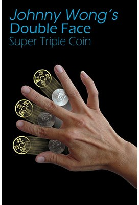 Double Face Super Triple Coin - magic