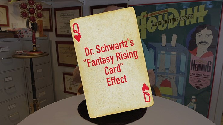 Dr. Schwartz's Fantasy Rising Card - magic