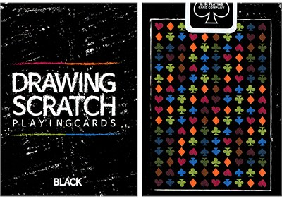 Drawing Scratch Playing Cards - magic