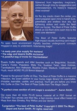 Duffie On Disc: The Best Of Peter Duffie - magic