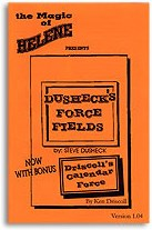 Dusheck's Force Fields - magic