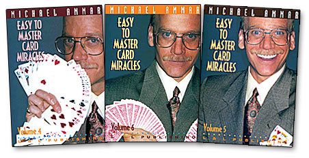 Easy to Master Card Miracles Volumes 4 - 6 - magic